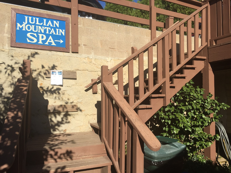 Apple Alley Entrance at Julian Mountain Spa